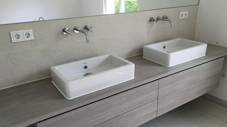 vero waschtisch mit dornbracht wandarmatur bierther gmbh heizungsanlagen. Black Bedroom Furniture Sets. Home Design Ideas